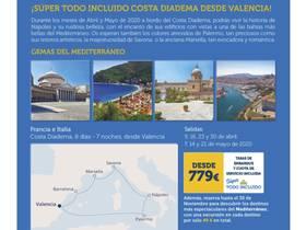 SUPER TODO INCLUIDO COSTA DIADEMA DESDE VALENCIA