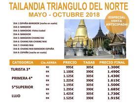 TAILANDIA TRIANGULO DEL NORTE